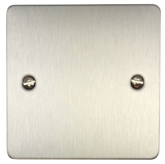 G&H Flat Plate Brushed Stainless Steel